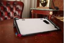 """Фирменный умный чехол самый тонкий в мире для LG G Pad 8.3 (V500) """"Il Sottile черный пластиковый Италия"""