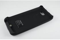 Чехол-бампер со встроенным усиленным аккумулятором большой повышенной расширенной ёмкости 3200mAh для LG G2 mini D618/D620K черный + гарантия