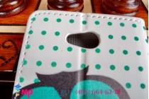 """Фирменный уникальный необычный чехол-книжка для LG L90 D410 """"тематика Сова"""""""