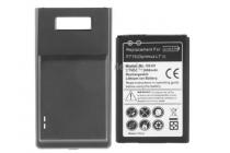 Усиленная батарея-аккумулятор большой повышенной ёмкости 3500 mAh для телефона LG Optimus L7 II 2 P715 / Dual P716 + задняя крышка черная + гарантия
