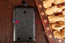 """Фирменный умный чехол самый тонкий в мире для LG G Pad 7.0 V400 """"Il Sottile"""" черный пластиковый Италия"""