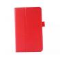 Чехол для LG G Pad 8.0 V480/V490 красный кожаный..