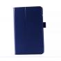 Чехол для LG G Pad 8.0 V480/V490 синий кожаный..