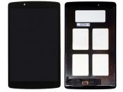 Фирменный LCD-ЖК-сенсорный дисплей-экран-стекло с тачскрином на планшет LG G Pad 8.0 V490  черный и инструмент..