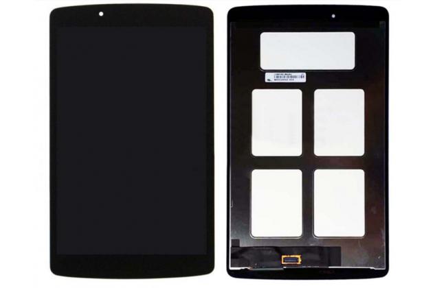 Фирменный LCD-ЖК-сенсорный дисплей-экран-стекло с тачскрином на планшет LG G Pad 8.0 V480/V490  черный и инструменты для вскрытия + гарантия