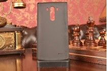 """Фирменная металлическая задняя панель-крышка-накладка для LG G3 /G3 Dual LTE D855/D856/D858/F400/F460/D830/VS985 5.46"""" из тончайшего облегченного авиационного алюминия черного цвета"""