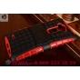 Противоударный усиленный ударопрочный фирменный чехол-бампер-пенал для LG G Flex 2 (H959) красный..