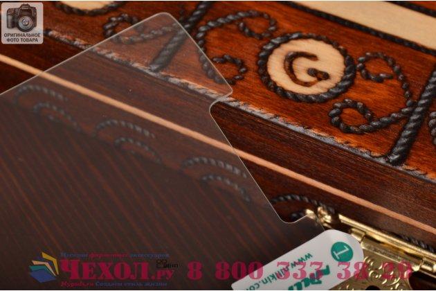 Фирменное защитное закалённое противоударное стекло премиум-класса из качественного японского материала с олеофобным покрытием для LG G Flex 2 (H959)