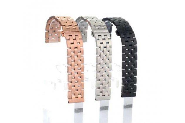 Фирменный необычный сменный стальной ремешок для умных смарт-часов LG G Watch W100 из нержавеющей стали