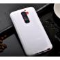 Фирменная ультра-тонкая полимерная из мягкого качественного силикона задняя панель-чехол-накладка для LG G2 (D..