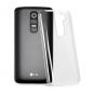 Фирменная задняя панель-крышка-накладка из тончайшего и прочного пластика для LG G2 (D802) прозрачная..