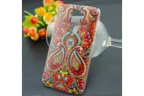 Фирменная роскошная задняя панель-чехол-накладка с безумно красивым расписным эклектичным узором на LG G2 (D802)