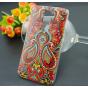 Фирменная роскошная задняя панель-чехол-накладка с безумно красивым расписным эклектичным узором на LG G2 (D80..