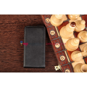 Чехол-книжка для LG Optimus F5 4G LTE P875 черный кожаный