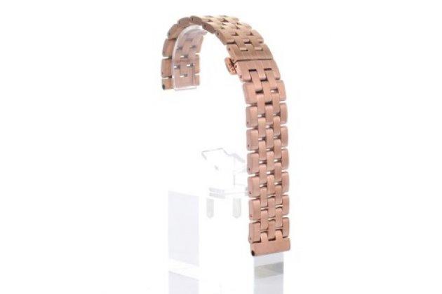 Фирменный необычный сменный стальной ремешок для умных смарт-часов LG Watch Urbane W150 из нержавеющей стали