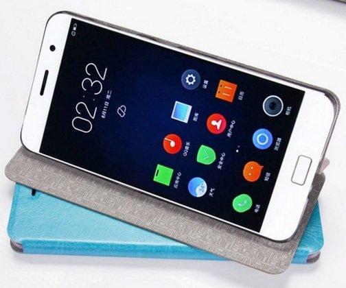 """Фирменный чехол-книжка из качественной водоотталкивающей импортной кожи на жёсткой металлической основе для  LG G3 /G3 Dual LTE D855/D856/D858/F400/F460/D830/VS985 5.46""""  бирюзовый"""