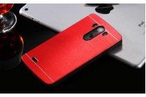 """Фирменная металлическая задняя панель-крышка-накладка из тончайшего облегченного авиационного алюминия для   LG G3 /G3 Dual LTE D855/D856/D858/F400/F460/D830/VS985 5.46"""" красная"""