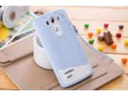 Фирменная необычная уникальная полимерная мягкая задняя панель-чехол-накладка для LG G3 /G3 Dual LTE D855/D856..