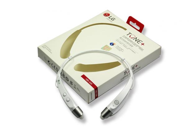 Беспроводная спортивная стерео-гарнитура LG HBS-500 Bluetooth  с микрофоном и переключателем песен для всех моделей телефонов (копия)