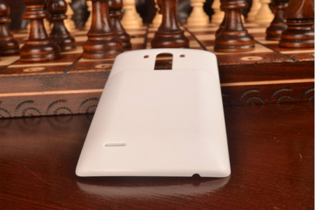 Усиленная батарея-аккумулятор большой повышенной ёмкости 7500mAh для телефона LG G3 /G3 Dual LTE D855/D856/D858 + задняя крышка в комплекте белая + гарантия