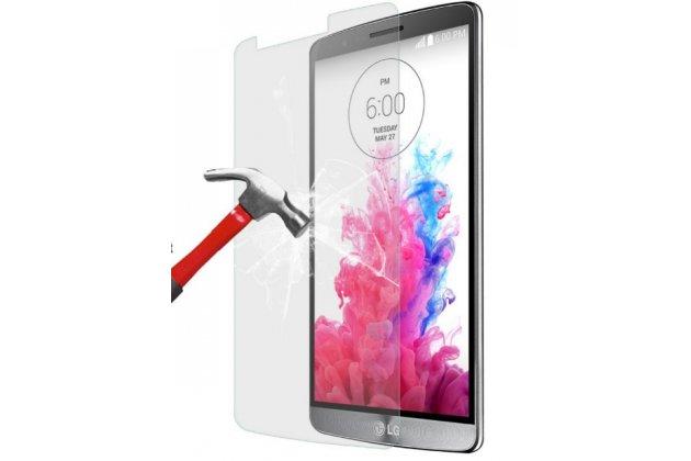 Фирменное защитное закалённое противоударное стекло премиум-класса из качественного японского материала с олеофобным покрытием для LG G3 Stylus D690