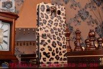 Чехол-защитный кожух для LG Aka H788N леопардовый коричневый