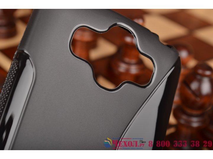 Фирменная ультра-тонкая полимерная из мягкого качественного силикона задняя панель-чехол-накладка для LG Aka H..