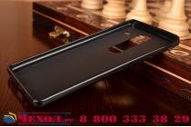 """Фирменная ультра-тонкая полимерная из мягкого качественного силикона задняя панель-чехол-накладка для LG Class H740 /H650E 5.0"""" черная"""