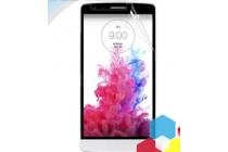 Фирменная оригинальная защитная пленка для телефона LG G3 s Mini D724/D722 глянцевая