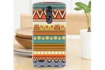 Фирменная роскошная задняя панель-чехол-накладка с безумно красивым расписным эклектичным узором на LG G3 s Mini D724/D722