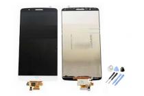Фирменный LCD-ЖК-сенсорный дисплей-экран-стекло с тачскрином на телефон LG G3 s Mini D724/D722 белый + гарантия