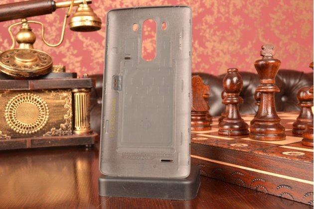 """Родная оригинальная задняя крышка-панель которая шла в комплекте для LG G3 /G3 Dual LTE D855/D856/D858/F400/F460/D830/VS985 5.46"""" черная"""
