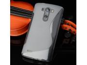 Фирменная ультра-тонкая полимерная из мягкого качественного силикона задняя панель-чехол-накладка для LG G4 St..