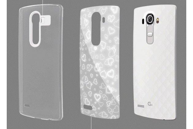 Фирменная пластиковая задняя панель-чехол-накладка с безумно красивым расписным рисунком для LG G4 круги