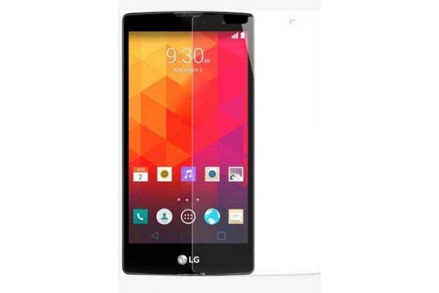 Фирменная оригинальная защитная пленка для телефона LG G4c H525N глянцевая