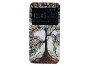 Фирменный чехол-книжка с безумно красивым расписным рисунком Сказачное дерево на LG G5 SE H845 / H860N / H850 ..