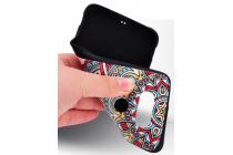 """Фирменная роскошная задняя панель-чехол-накладка из мягкого силикона с объемным  3D изображением на LG G5 SE H845 / H860N / H850 5.3"""" с безумно красивым рисунком  """"Тематика Стильные узоры"""""""