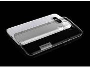 Фирменная ультра-тонкая полимерная из мягкого качественного силикона задняя панель-чехол-накладка для LG G5 SE..