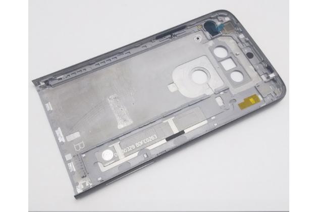 """Родная оригинальная задняя крышка-панель которая шла в комплекте для LG G5 SE H845 / H860N / H850 5.3"""" серая"""