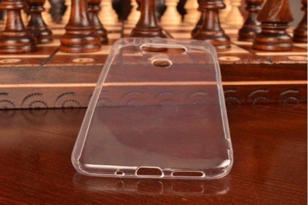 Фирменная ультра-тонкая полимерная силиконовая мягкая задняя панель-чехол-накладка для LG G5 H860N/ H850 5.3 прозрачная