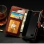 Фирменный чехол-книжка из качественной импортной кожи с мульти-подставкой застёжкой и визитницей для Лджи Джой..