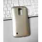 Фирменная ультра-тонкая полимерная из мягкого качественного силикона задняя панель-чехол-накладка для LG K10 /..