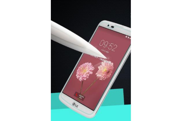 """Фирменное защитное закалённое противоударное стекло премиум-класса из качественного японского материала с олеофобным покрытием для телефона LG K10 / M2 (K410 / K420N / K430N / K430 Dual Sim LTE) 5.3"""""""