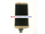 Фирменный LCD-ЖК-сенсорный дисплей-экран-стекло с тачскрином на телефон LG K10 / M2 (K410 / K420N / K430N / K4..
