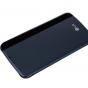 """Фирменный оригинальный чехол-книжка CFV-150 с окном для входящих вызовов для LG K10 / M2 (K410 / K420N / K430N / K430 Dual Sim LTE) 5.3""""  синий"""