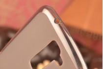 """Фирменная ультра-тонкая полимерная из мягкого качественного силикона задняя панель-чехол-накладка для LG K10/ К10 LTE K410 / M2 5.3"""" черная"""