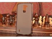 Фирменная ультра-тонкая полимерная из мягкого качественного силикона задняя панель-чехол-накладка для LG K10/ ..