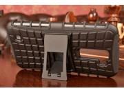 Противоударный усиленный ударопрочный фирменный чехол-бампер-пенал для  LG K10/ К10 LTE K410 / M2 5.5