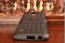 """Противоударный усиленный ударопрочный фирменный чехол-бампер-пенал для  LG K10/ К10 LTE K410 / M2 5.5"""" черный"""