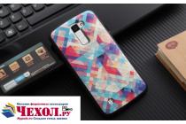 """Фирменная роскошная задняя панель-чехол-накладка из мягкого силикона с объемным  3D изображением на LG G5 SE H845 / H860N / H850 5.3"""" с безумно красивым рисунком  """"Тематика Яркая Мозайка"""""""